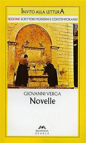 Novelle.: Verga,Giovanni.