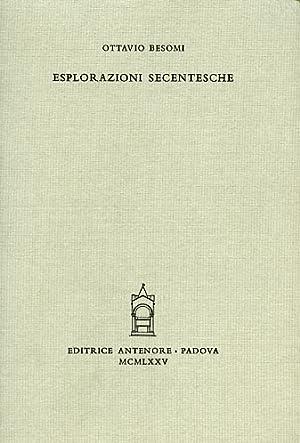 Esplorazioni secentesche.: Besomi,Ottavio.