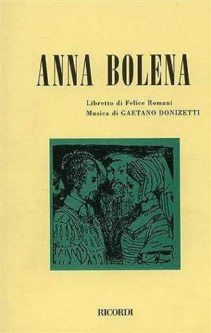 Anna Bolena.: Romani,Felice (Libretto di).