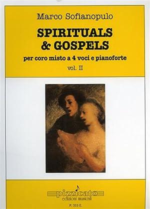 Spirituals & gospels. Per coro misto a 4 voci e pianoforte vol.II. Dall'indice: Motherless...