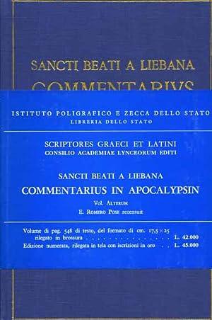 Commentarius in Apocalypsin. Vol.II.: Sancti Beati a Liebana.