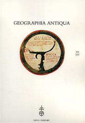 Geographia Antiqua. Vol. XIII (2004). Dall'Indice: P.Janni.Note