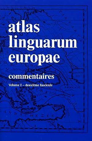 Atlas linguarum Europae. (ALE). Vol.I: Commentaires, deuxième fascicule: Cartes.: Alinei,...
