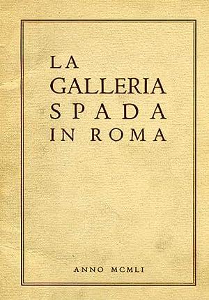 La Galleria Spada in Roma.
