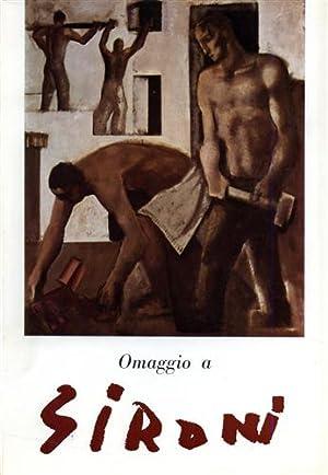 Omaggio a Mario Sironi.: Catalogo della Mostra: