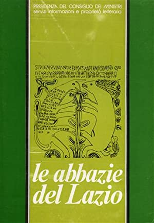 Le abbazie del Lazio. Estratto dai nn.10/76,: Armani,Edda. De Caprio,Sara.