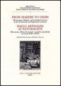 From Makers to Users. - Dagli artigiani: Atti del Convegno