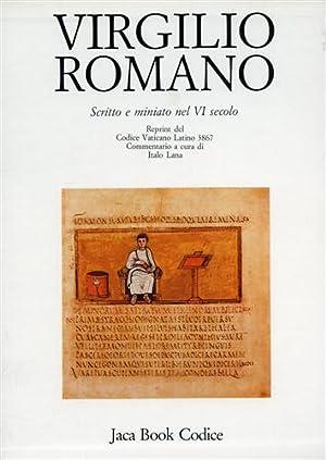 Vergilius Romanus. Codice Vaticano Latino 3867. Scritto e miniato nel VI secolo.