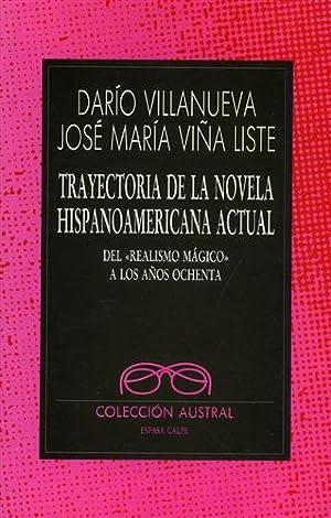 Trayectoria de la novela Hispanoamericana actual del: Villanueva,Darìo. Vina Liste,José