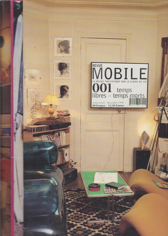 Revue Mobile N° 001-002-003 Chloé Braunstein et Ollivier Peyricot [Fine] [Softcover] Collection complète des 3 numéros parus