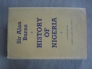History of Nigeria: Sir Alan Burns