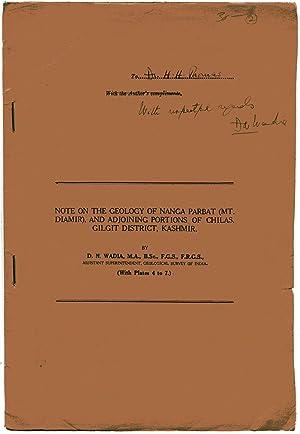 Note on the Geology of Nanga Parbat: Wadia, D. N.