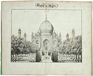 From the East Indies. Description of the: India. Taj Mahal.