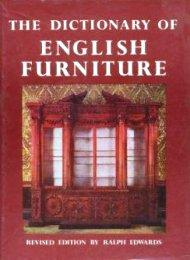 Dictionary of English Furniture. (The): Edwards Ralph