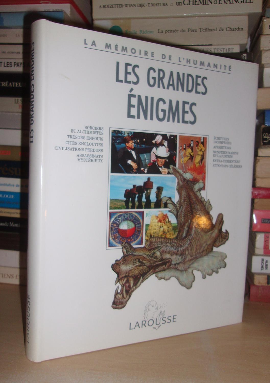 LES GRANDES ENIGMES : Préface De Nadeije Laneyrie-Dagen, Sous La Direction De Jacques Marseille et Nadeije Laneyrie-Dagen