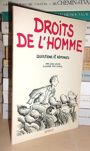 Droits De L'Homme - Questions et Réponses: Leah Levin -