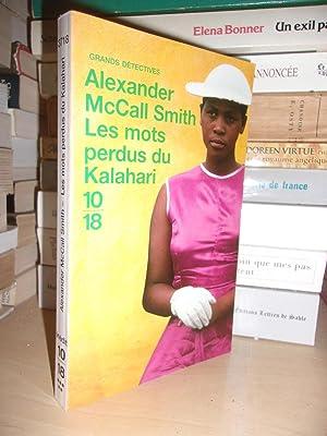 Les Mots Perdus Du Kalahari - Traduit: Alexander McCall Smith