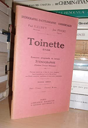 Toinette - Etude : Exercices Progressifs De: Fleury Paul -