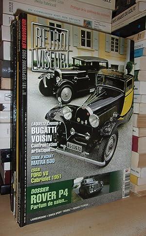 Rétroviseur N°181 - Septembre 2003 : Bugatti: Collectif