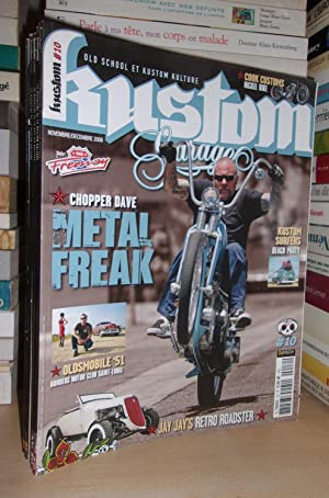 Kustom Garage N°10 : Chopper Dave Metal Freak
