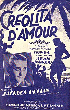 Créolita D'Amour : Paroles De Louis Potérat: Collectif (Poterat Louis