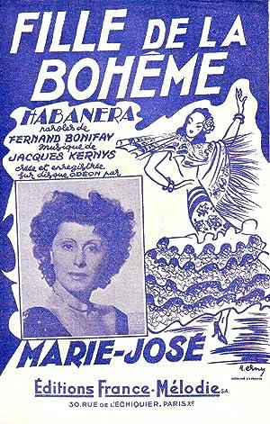 Fille De La Bohème - Habanera : Collectif (Fernand Bonifay