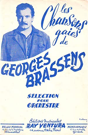Les Chansons Gaies De Georges Brassens : Sélection Pour Orchestre : La Chasse Aux Papillons ...