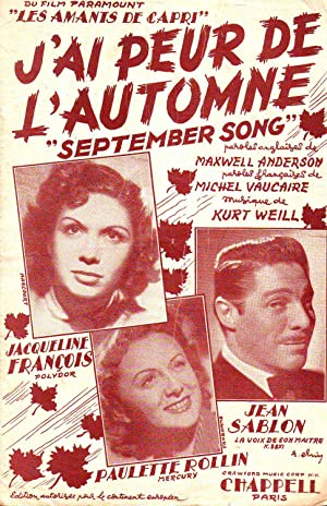 J'ai Peur De L'automne - (September Song): Collectif (Anderson -