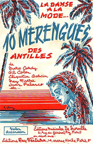 10 Merengues Des Antilles : De Mario: Collectif (Cardy -