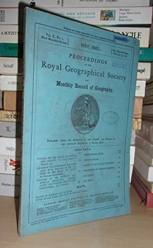 GEOGRAPHICAL SOCIETY & MONTHLY RECORD OF GEOGRAPHY : Vol. II, no. 5 - May 1880 : Edited By the As...