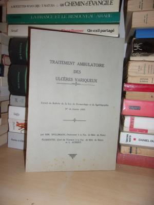Traitement Ambulatoire Des Ulcères Variqueux : Extrait: Spillmann - Florentin