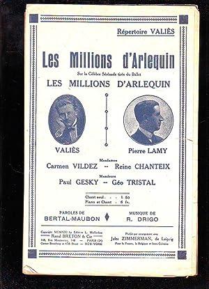 Les Millions d'Arlequin Sur La Célèbre Sérénade: Collectif (Vildez -