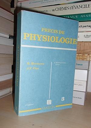 Précis De Physiologie - T.3 : Système: H. Hermann -
