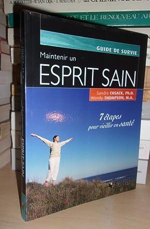 MAINTENIR UN ESPRIT SAIN : Guide De: CUSACK Sandra -