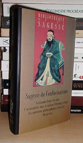 Sagesse Du Confucianisme : Les Quatres Livres: Zhongni Confucius -
