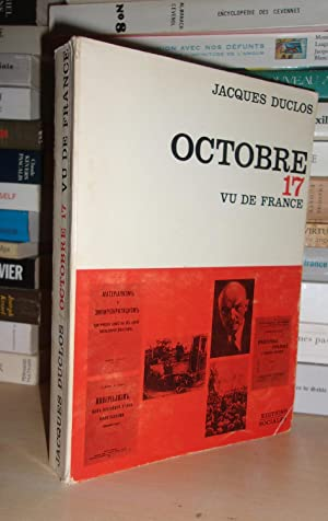 OCTOBRE 17 VU DE FRANCE
