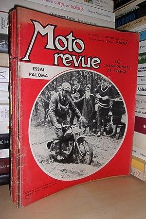 Moto Revue N°1519: 10 Décembre 1960. 48e: Collectif