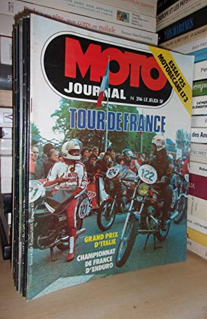 Moto Journal N°316: 1977. (Essai Motobécane LT3.: Collectif