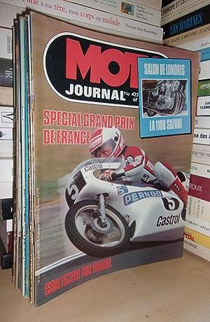 Moto Journal N°423: 1979. (Salon De Londres: Collectif