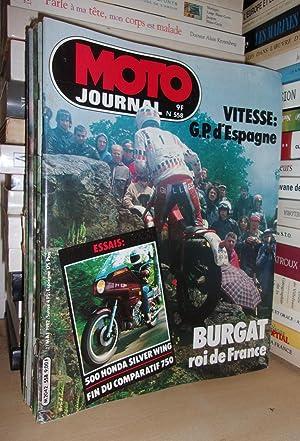 Moto Journal N°558: 1982. (Essais 500 Honda: Collectif