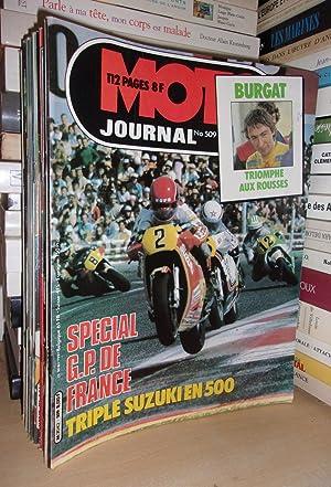Moto Journal N°509: 1981. (Spécial GP De: Collectif