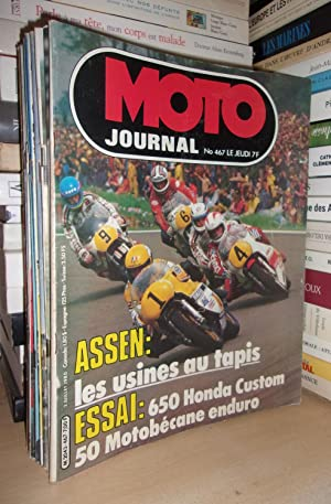 Moto Journal N° 467: 1980. (Essai 650 Honda Custom, 50 Motobécane Enduro)