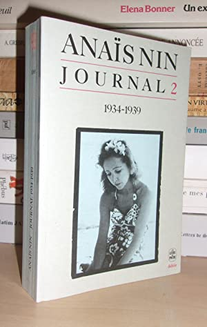 Journal - T.2 : 1934-1939. Etabli Et: Anais Nin
