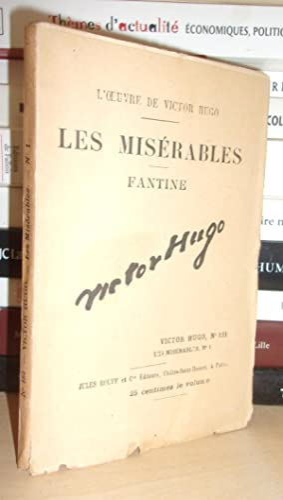 L'Oeuvre De Victor Hugo - T.181 : Hugo Victor