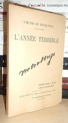 L'Oeuvre De Victor Hugo - T.177 : Hugo Victor