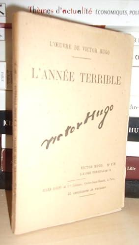 L'Oeuvre De Victor Hugo - T.178 : Hugo Victor