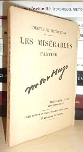 L'Oeuvre De Victor Hugo - T.183 : Hugo Victor