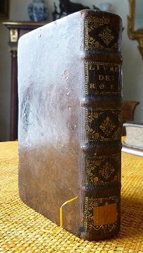 Les Deux Premiers Livres Des Rois Traduits: Lemaistre De Sacy