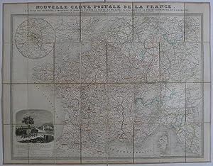 POSTE. Nouvelle carte postale de la France: France postale. (Logerot
