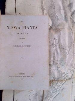 La nuova pianta di Genova illustrata [.].: Banchero Giuseppe.